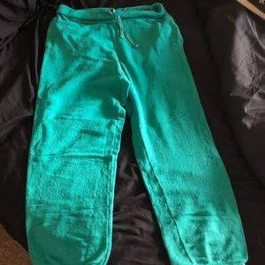 Aerie slouchy sweatpants